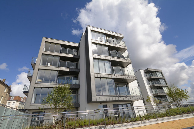 Coast, Bournemouth: Zinc Cladding
