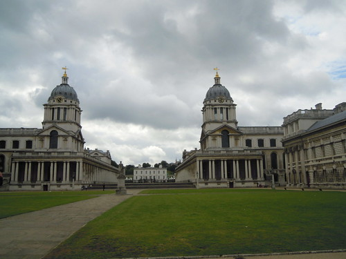 Old Royal Naval College. From Studying Abroad in London: A Quick Ride to Greenwich!