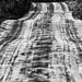 Striped road