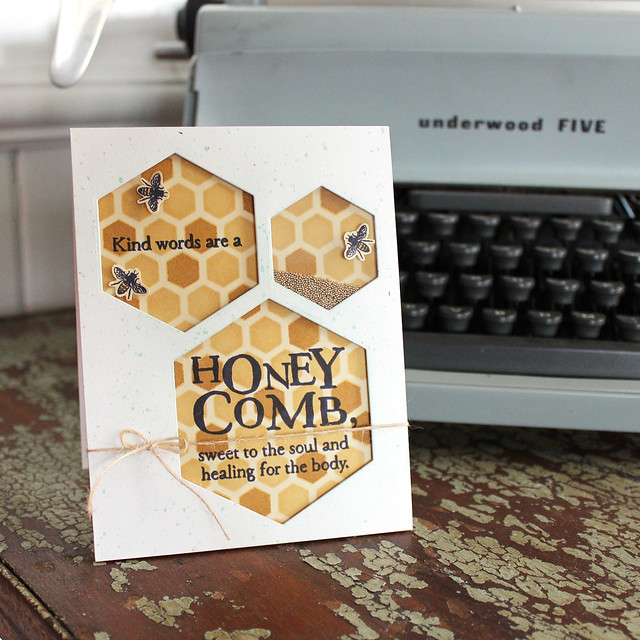 Honey Comb Card 3
