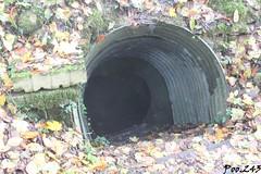 Entrée d'un souterrain - Coté allemand