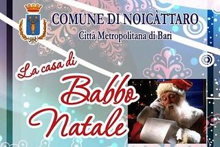 Noicattaro. Casa di Babbo Natale front