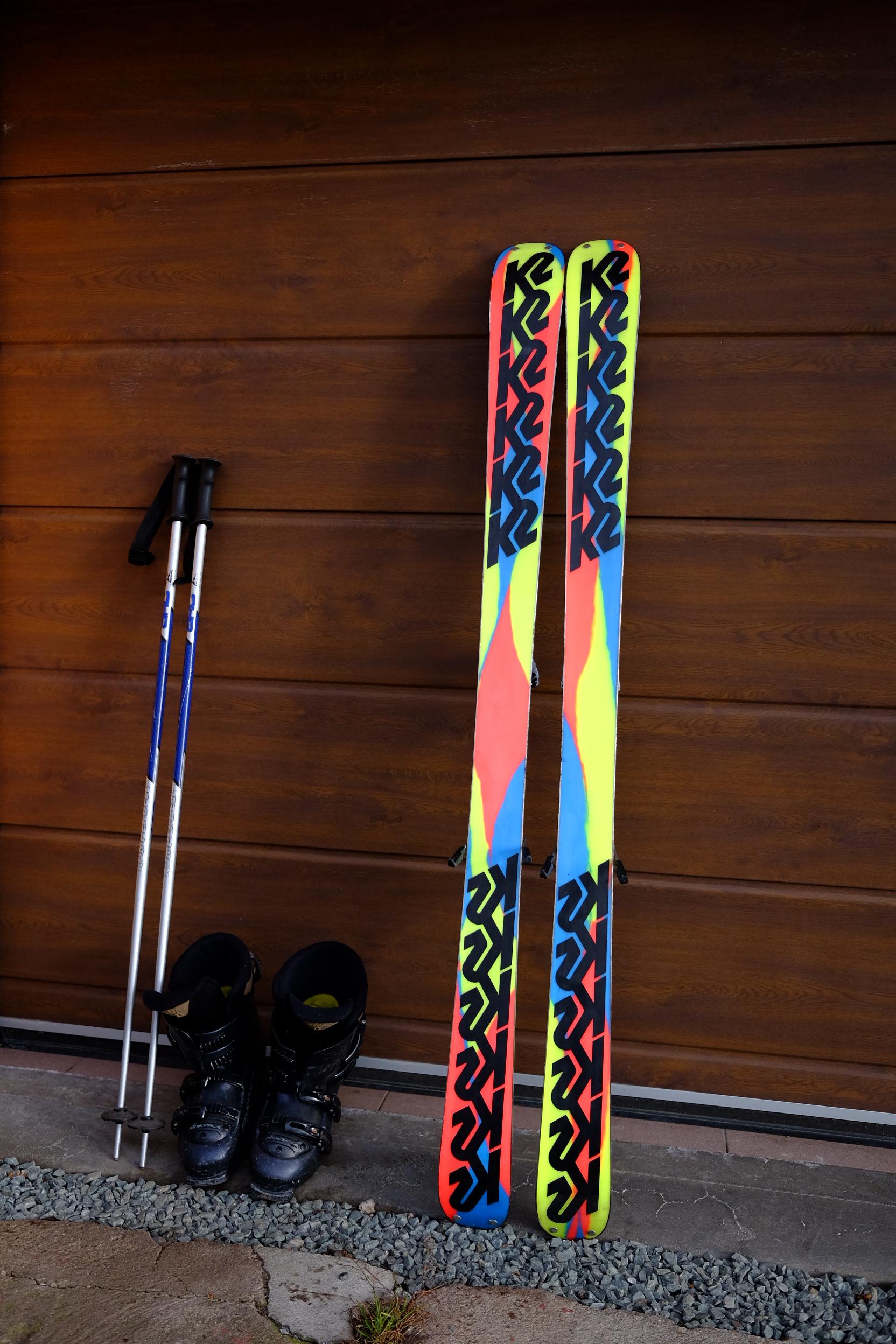 Freeride freestyle lyže K2 Extreme Skis ab240c566cc