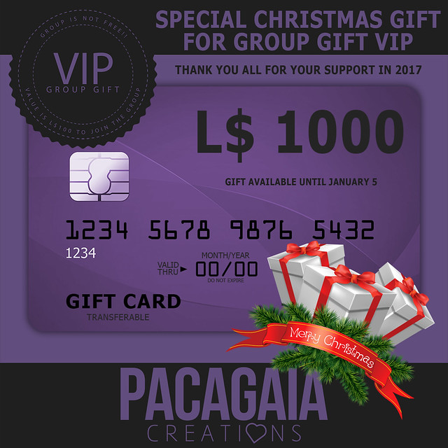 NEW GROUP GIFT VIP FOR LIMITED TIME!!
