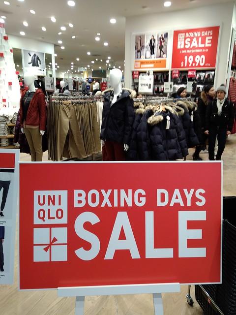 UNIQLO Boxing Days Sale