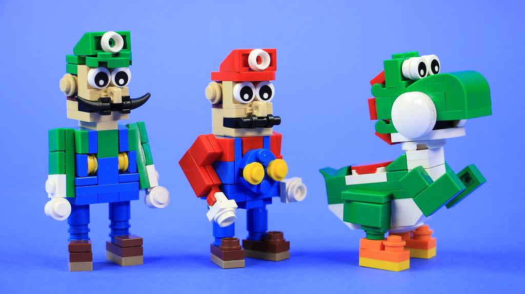 LEGO Yoshi, Mario & Luigi