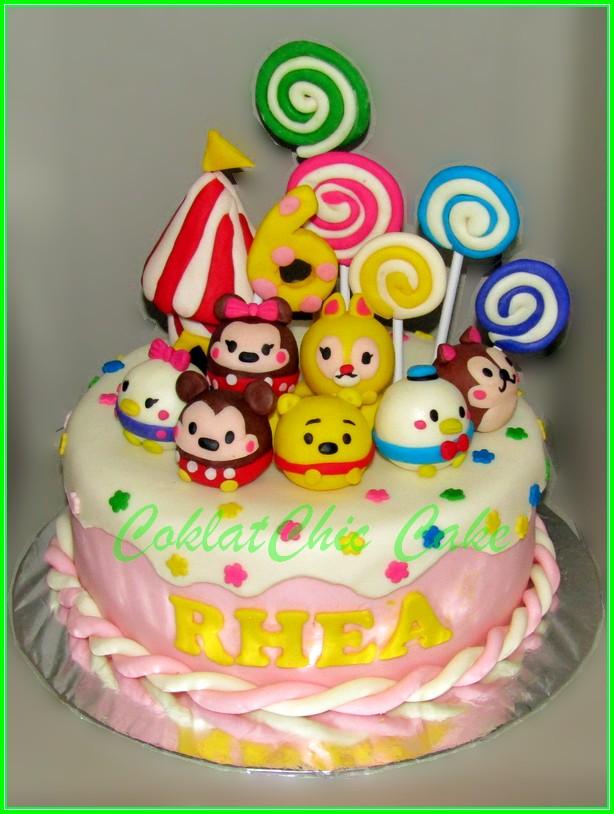 Cake Tsum Tsum RHEA 18cm