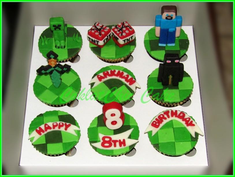 Cupcake Set Minecraft ARKHAN