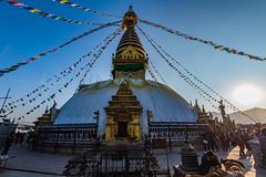 Swayambhunath, Kathmandu, Nepal.