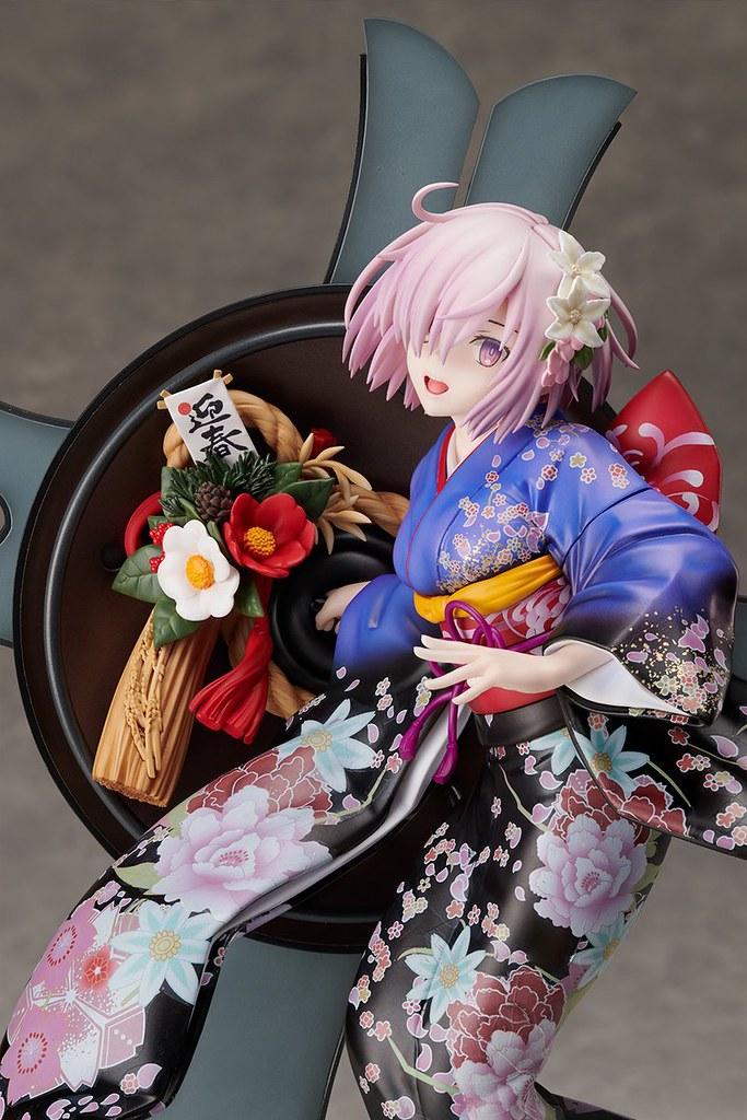 《Fate/Grand Order》Grand NewYear 瑪修・基利艾拉特(グランド・ニューイヤー マシュ・キリエライト)1/7比例模型【ANIPLEX+限定】