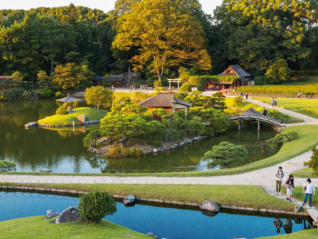 Okayama Korakuen Garden, Japan.