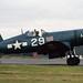 Vought FG-1D Corsair N8297 (88297/29) North Weald 13-5-89