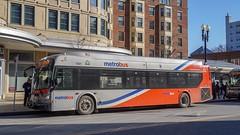 WMATA Metrobus 2012 New Flyer Xcelsior XDE40 #7221