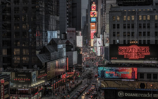 View on Times Square