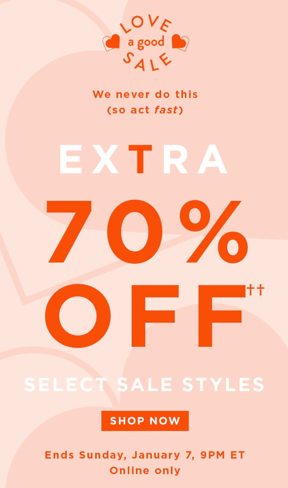 Extra 70% Off Select Sale Styles at LOFT.com
