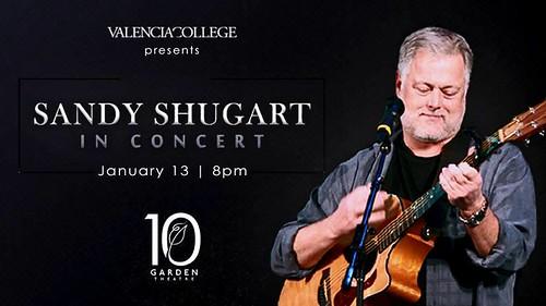 Sandy Shugart in Concert in Winter Garden