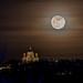 Superluna su Superga by davide photography