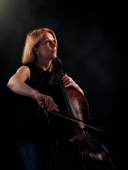 Cello player Helena Nordquist