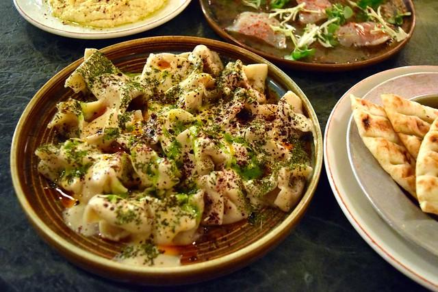 Turkish Dumplings & Yogurt at Yosma, Marylebone #mezze #marylebone #london