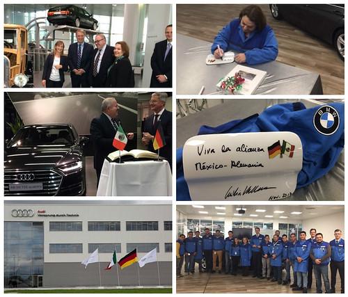 Visitas a sedes de las empresas AUDI y BMW en Baviera
