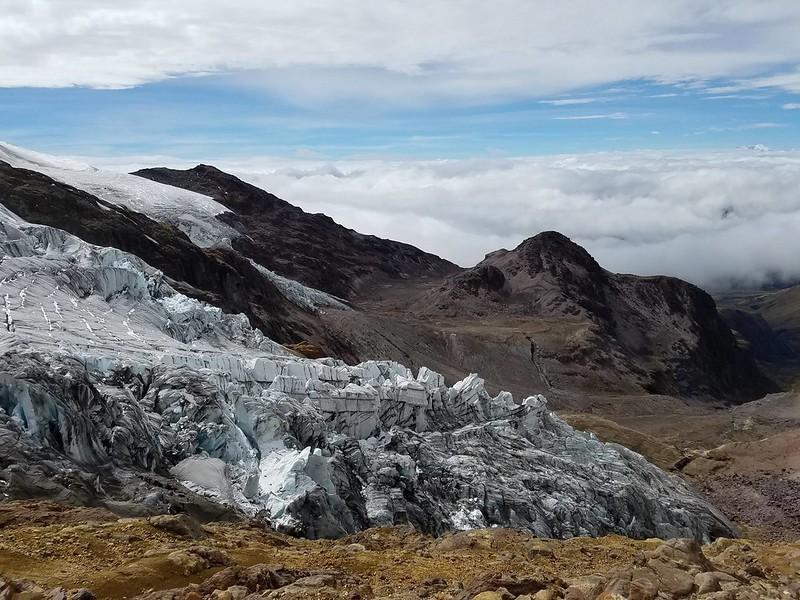 Cayambe • Cayambe Glacier