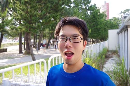 夏合宿この写真をスマフォのロック画面にしてた