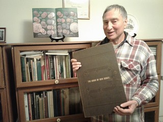 Dave Hirt's 19th Century Numismatic Bookcase with Maris