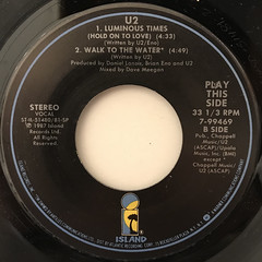 U2:WITH OR WITHOUT YOU(LABEL SIDE-B)