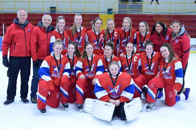 Dec 17, 2017 - Central AB IceBrkr - U19AA Strive wins Silver