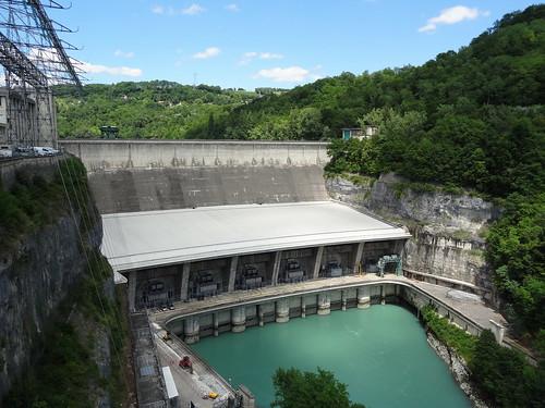 02_Barrage de Génissiat sur le Rhône