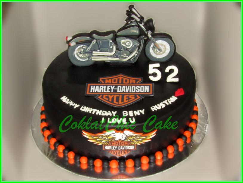 Cake Motor Harley Davidson BENY 30cm