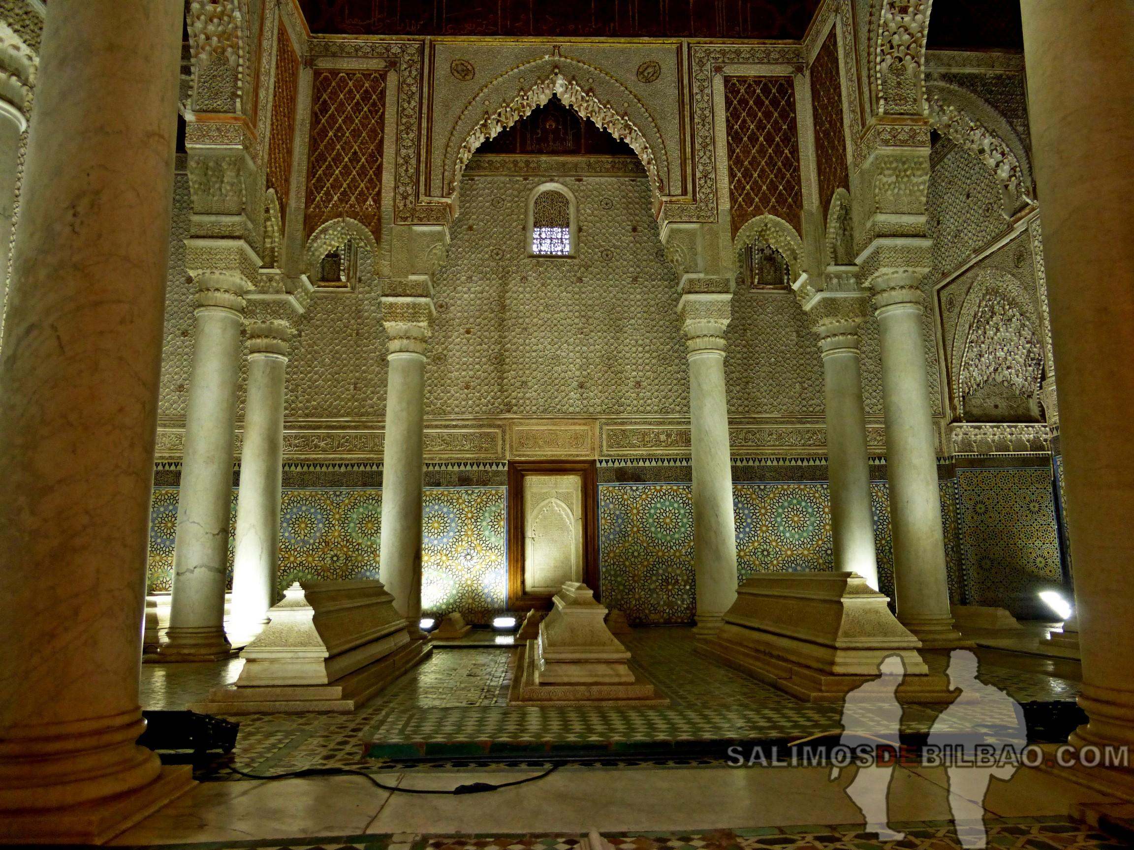 724. Tumbas saadíes, Marrakech
