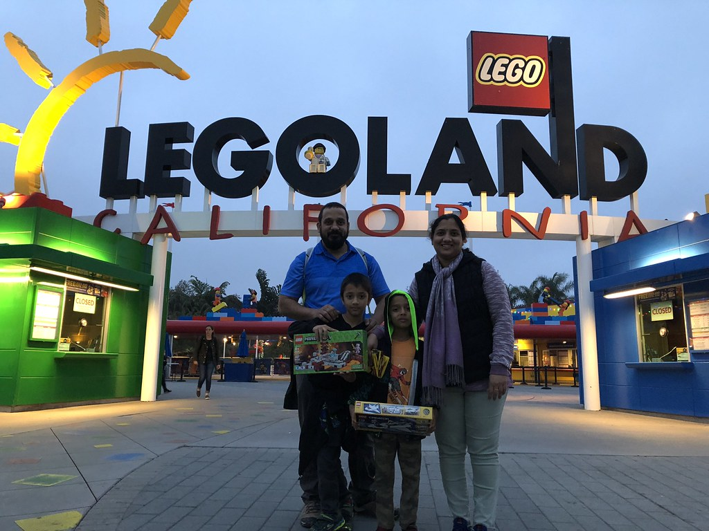 Legoland -- you can never leave without buying something :P