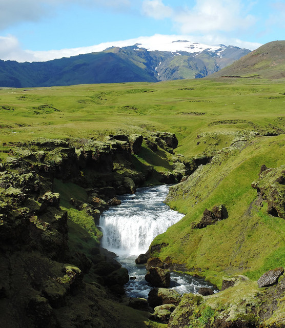 Valley of Skógar, Southern Iceland