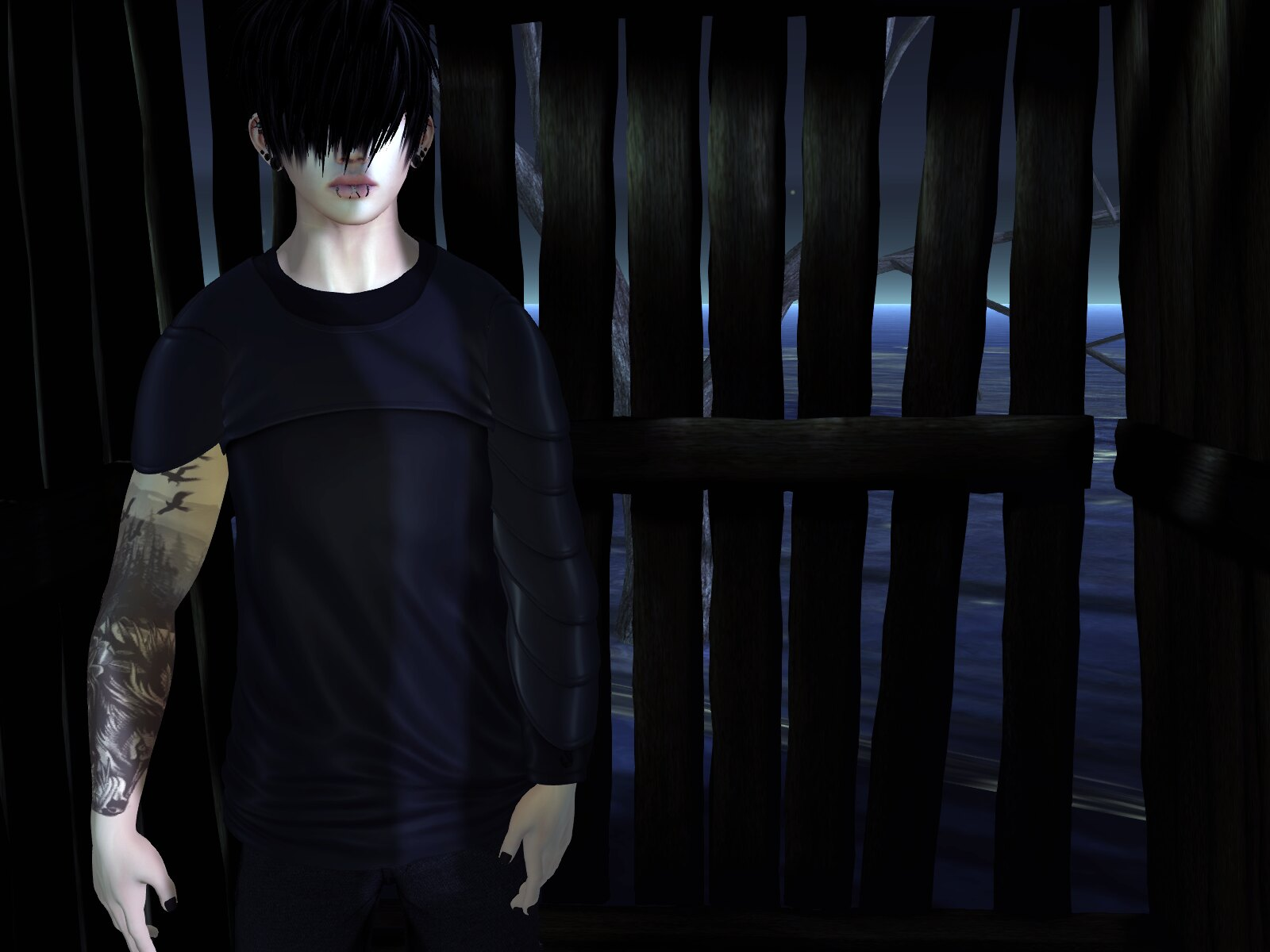 Meshmerized - Armored Shirt @ The Mens Jail