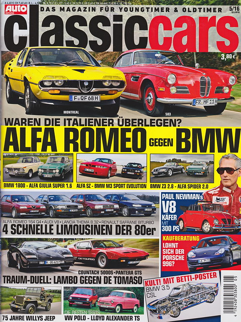 Auto Zeitung - Classic Cars 5/2016