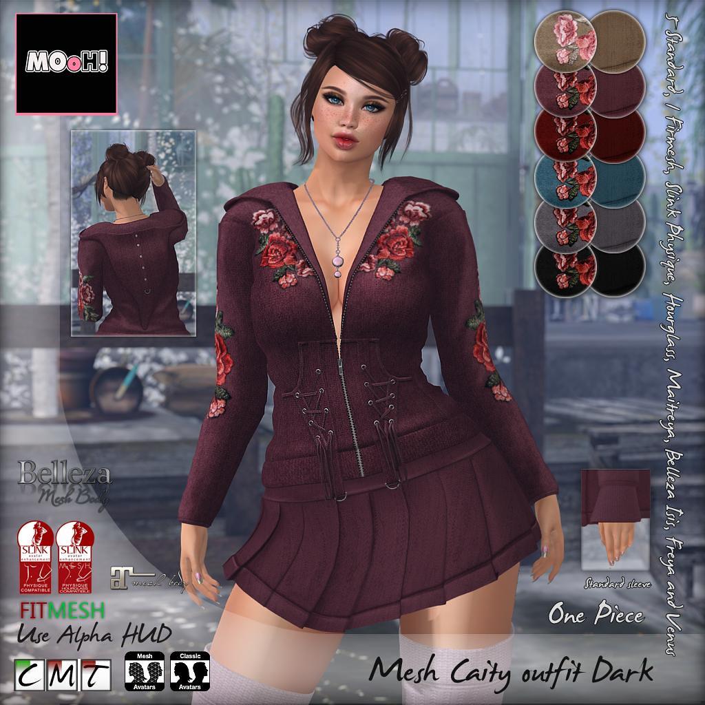 Caity outfit dark - TeleportHub.com Live!