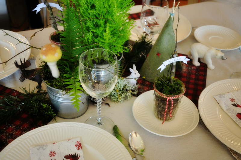 Christmas Tablescape @ Mt. Hope Chronicles