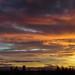 sunset over Teesside