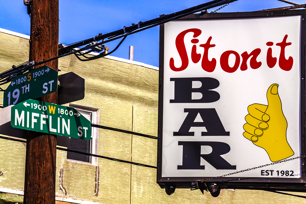 Sit on it  BAR--Point Breeze