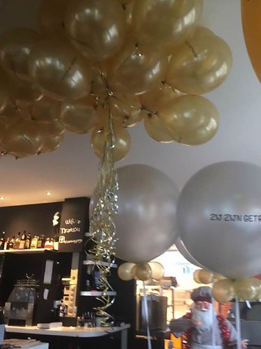 Heliumballonnen Bedrukt Restaurant Tiramisu by George Hilversum