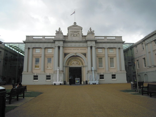 At the Maritime Museum. From Studying Abroad in London: A Quick Ride to Greenwich!