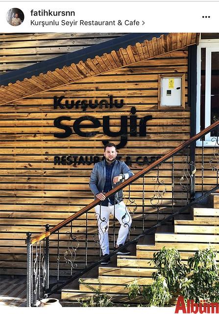 Kurşunlu Seyir Restoran & Kafe'nin sahibi Fatih Kurşun, pazar günü yaptığı bu paylaşımla beğeni topladı.