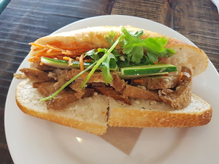 Tofu Bahn Mi at Cafe O'Mai