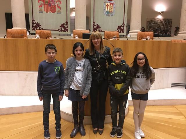 Visita al Parlamento de La Rioja Dia de la Constitución