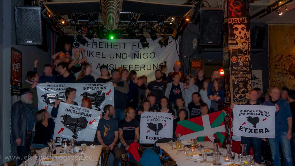 16.12.2017 - Soli-Essen für Iñigo & Mikel
