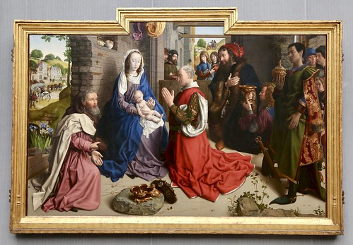 Hugo van der Goes. The Adoration of the Kings (Monforte Altarpiece)