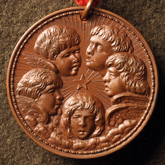 1880 Willaim Key Nativity medal2
