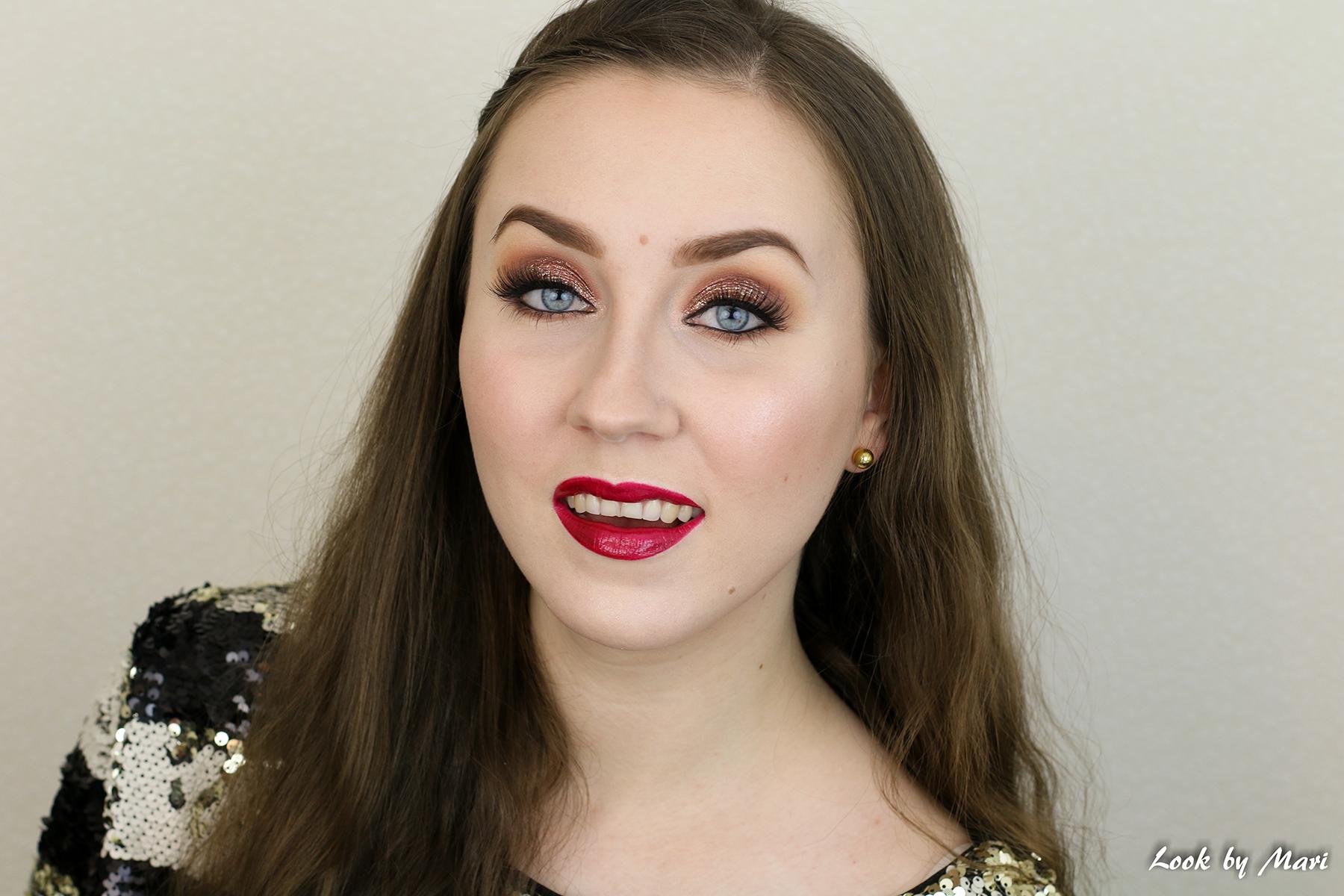 4 holiday makeup inspo ideas inspiration 2017 christmas meikki joulumeikki