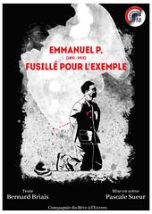 Affiche : Emmanuel Pairault, fusillé pour l'exemple.